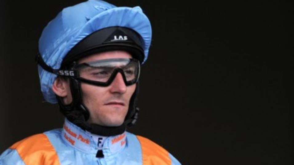 Danny Tudhope rides at Nottingham on Thursday