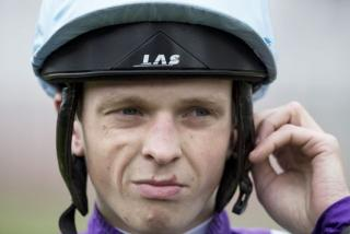 Jockey David Probert can coax out a victory from Green Howard