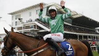 Will Davy Russell be celebrating again?