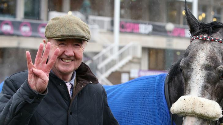 Dermot Weld trainer of Dalton Highway