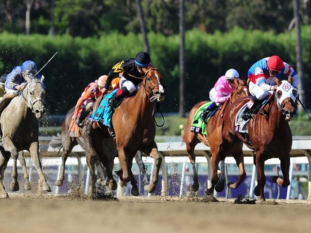 The Breeders' Cup starts on Friday at Santa Anita
