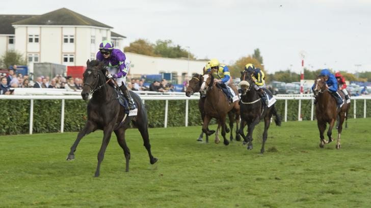 Doncaster racing action