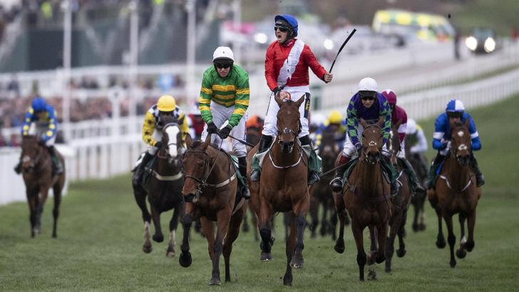 Envoi Allen winning at the Cheltenham Festival
