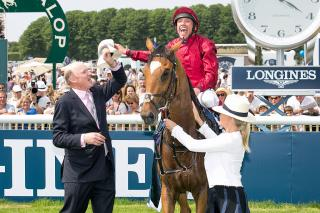 Will Frankie Dettori and John Gosden be celebrating  Mr Singh's success on Saturday?