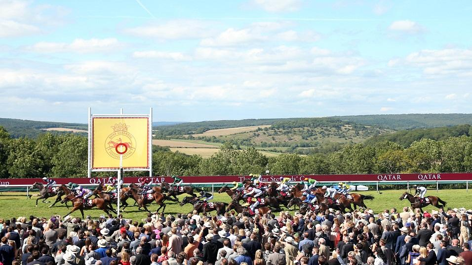 Goodwood racecourse on a glorious summer's day