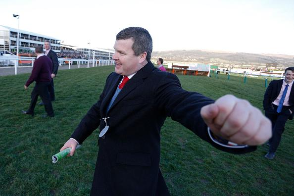 Tombstone's trainer Gordon Elliott - ready for first day Cheltenham success?