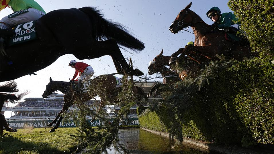 Blaklion is currently the 12/1 favourite for the Grand National