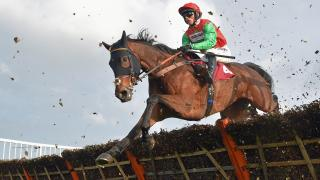 Ludlow hurdle action