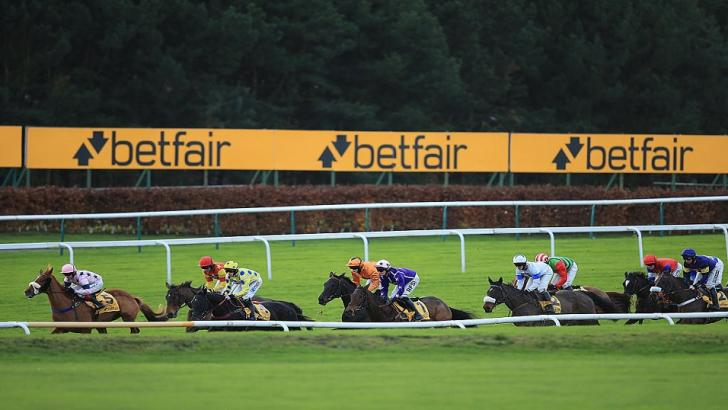 Haydock racecourse on Betfair Chase day