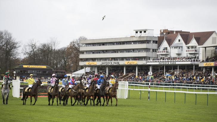 Racing at Haydock