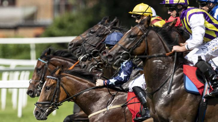 Royal Ascot action