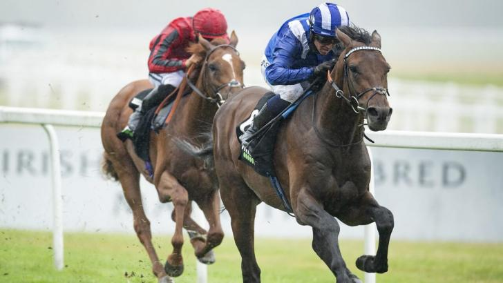 Hukum winning at Newbury