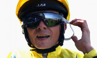 Jockey Jamie Spencer rides Intrude for the first time at Lingfield on Saturday