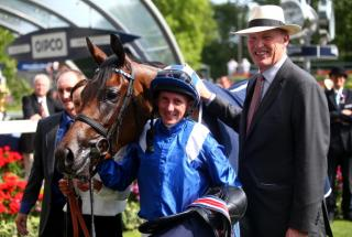 Trainer John Gosden (right) could have a good day at Royal Ascot