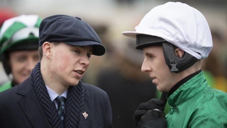 Joseph O'Brien with Mark Walsh