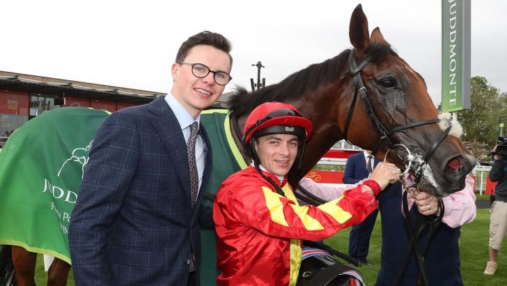 Joseph O'Brien with Iridessa