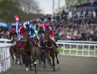 Kempton hosts the UK's only race meeting today