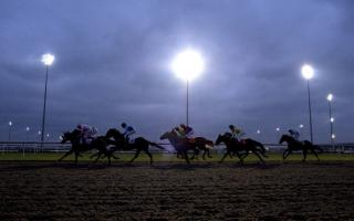 They're racing under the floodlights at Kempton on Wednesday