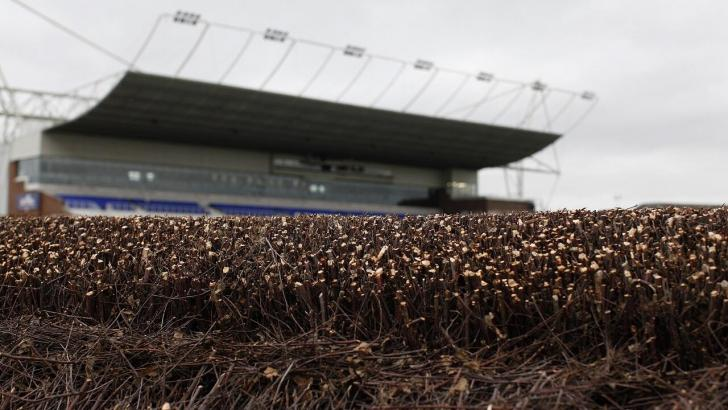 The final fence at Kempton