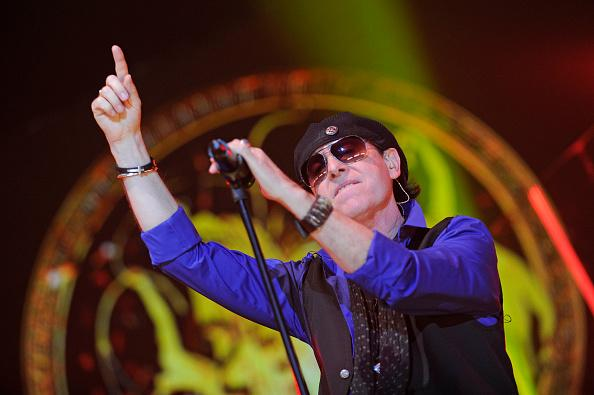 Klaus Meine - lead singer of the Scorpions