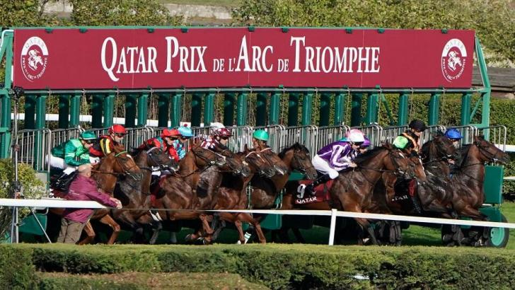 The stalls at Longchamp for the 2019 Prix de l'Arc de Triomphe Tips