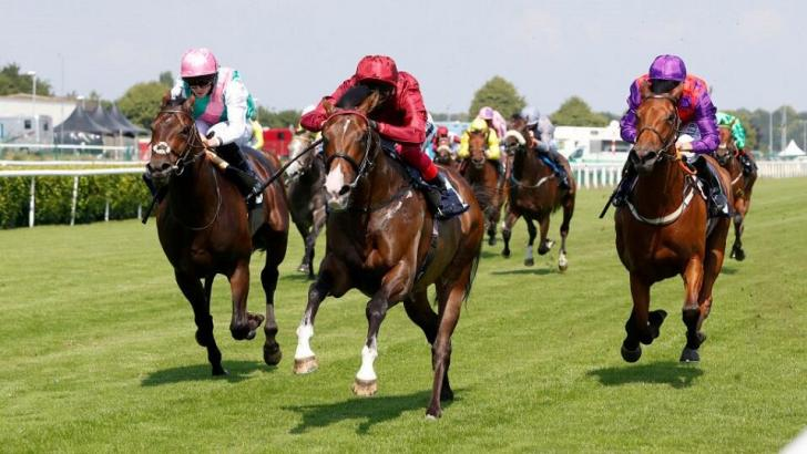 Doncaster race action
