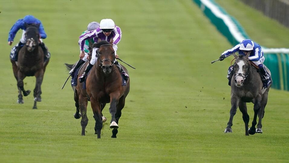 Magna Grecia winning the 2000 Guineas