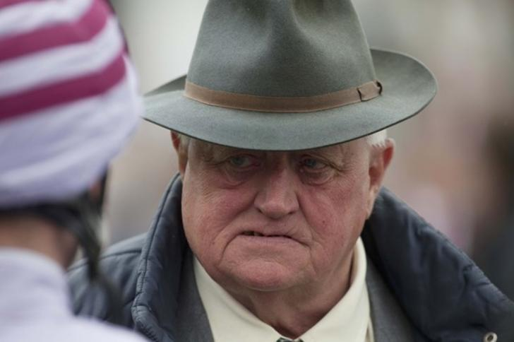 Veteran trainer Mick Easterby sends the sprinter Bosham to Southwell