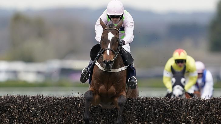 Min in action for Willie Mullins