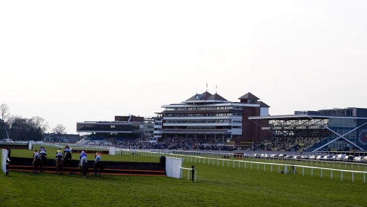 Newbury Racecourse in Berkshire