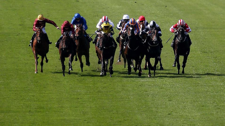 Newmarket Race Finish - ITV Racing Tips