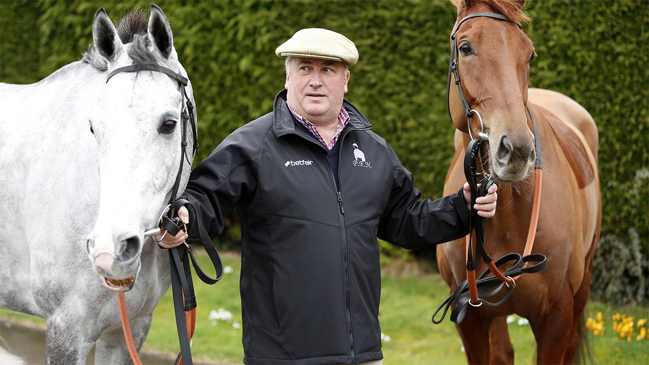 Paul Nicholls hopes Old Guard can record a second success in the Greatwood Hurdle