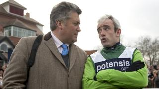 Paul Nicholls and Ruby Walsh