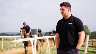Racing trainer Olly Murphy