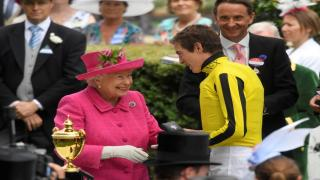 The Queen presents the Ascot Gold Cup