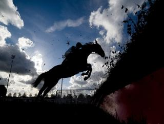 There's jumps action from Kempton on Monday