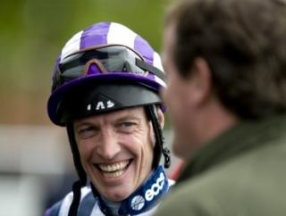 Lets hope Richard Hughes is still smiling after his ride on Major Mac