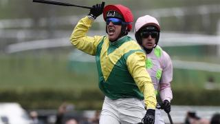 Sizing John has thrived over three miles and Tony Keenan thinks he can win again over Christmas.