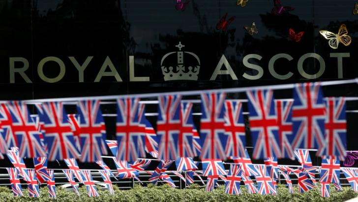 Royal Ascot flags