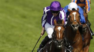 Ryan Moore has two rides on Day 1 of the 2017 Breeders' Cup