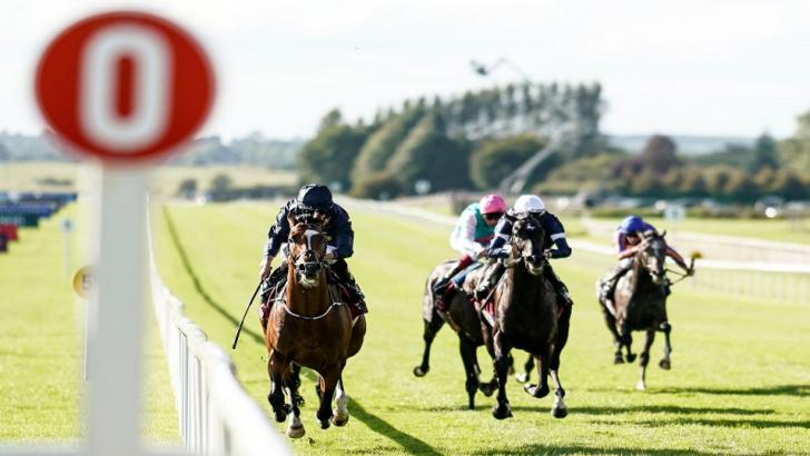 Curragh race finish