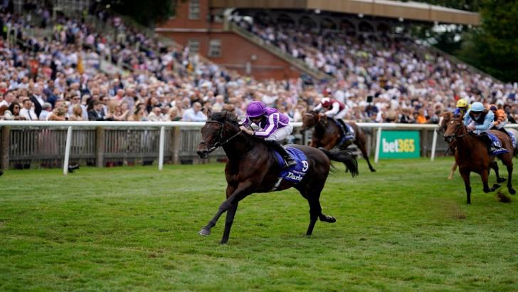 Ryan Moore riding Ten Sovereigns