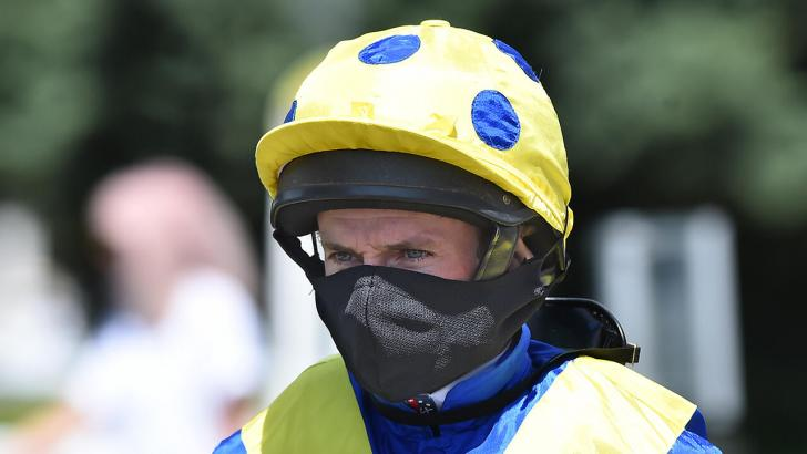 Ryan Moore racing jockey