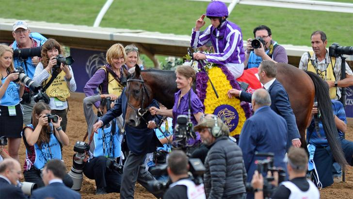 Will Ryan Moore be celebrating again, this time on Spirit of Valor?