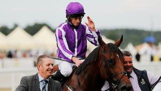 Ryan Moore on a horse