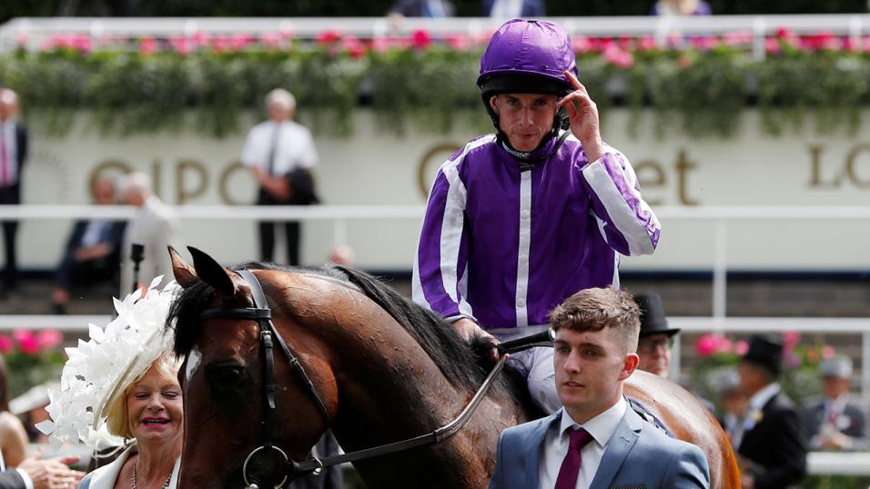 Ryan Moore rides at Leicester today