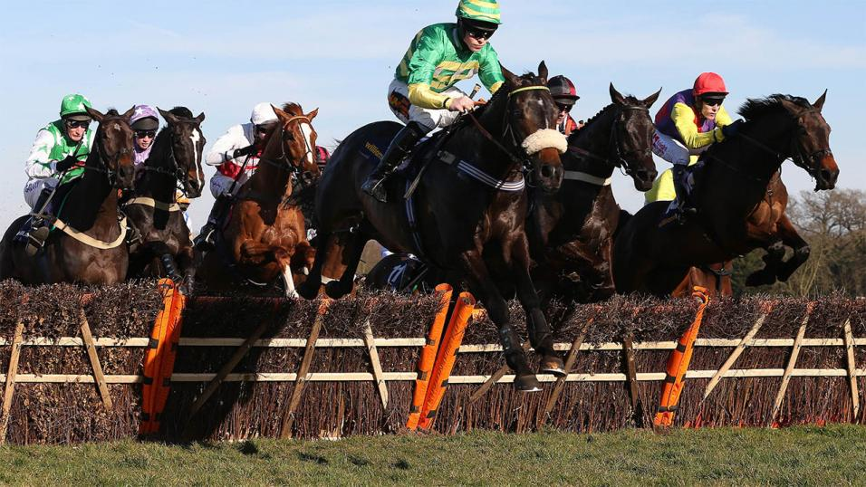 Some amazing scenes were witness in Wetherby's 16:05 race today