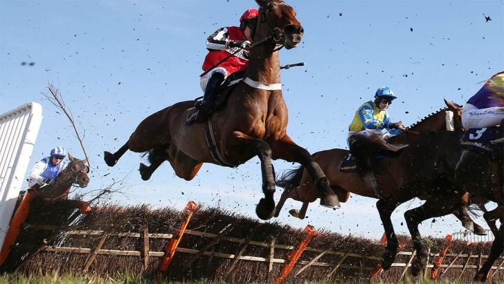 There is jumps racing from Limerick on Friday evening