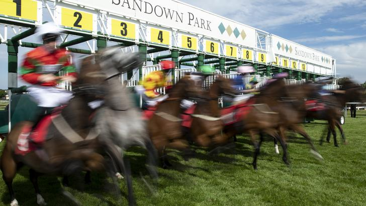 Racing at Sandown