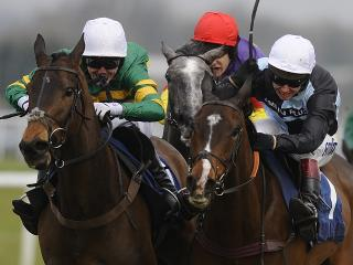 Shuthefrontdoor is likely to go off as a short-priced favourite for the 2015 Grand National - make sure you take the Betfair Starting Price, warns Tony Calvin